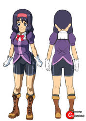 Female Mage Uniform by Goldsickle