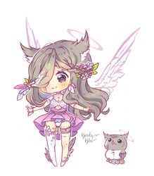 003 Feoni Adopt: Lavender [CLOSED] by BirdyBlu