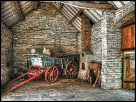 The old barn by MisterKrababbel