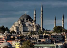 Suleymaniye Mosque by MisterKrababbel