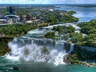 Niagara Falls by MisterKrababbel