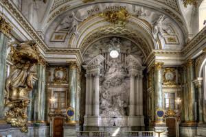 Inside The Royal Palace by MisterKrababbel
