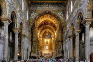 Monreale Cathedral by MisterKrababbel