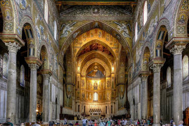 Monreale Cathedral by MisterKrababbel