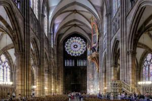 Strasbourg Cathedral by MisterKrababbel