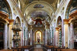 Jesuit Church Vienna by MisterKrababbel