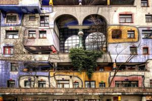 Hundertwasser in Vienna by MisterKrababbel