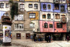 Hundertwasser Apartments by MisterKrababbel