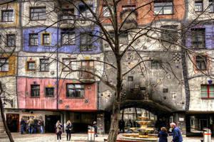 Hundertwasser Apartment House by MisterKrababbel