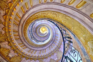 Spiral Staircase by MisterKrababbel