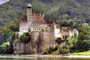 Schoenbuehel Castle by MisterKrababbel