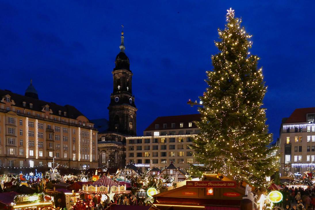 Dresden Christmas Market 2018 by MisterKrababbel