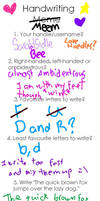 Hand Writing meme by Sara4Sidle