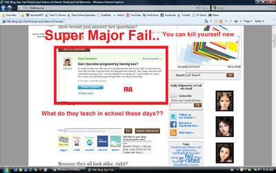 Super Fail FailBlog Blog by Sara4Sidle