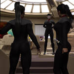 Cmdr. T'Lin Gives Instructions by StalinDC