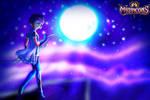 Zarya fanart by SarahMyriaCarter