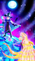Varian Wizard- Defying gravity by SarahMyriaCarter
