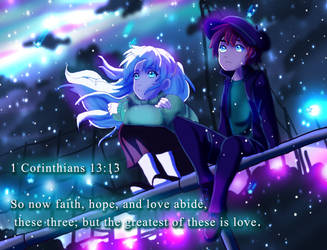 1 Corinthians 13-13 by SarahMyriaCarter