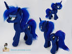 Casual Princess Luna - with faux fur by Epicrainbowcrafts