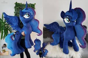 Lifesize standing Princess Luna swarovski crystals by Epicrainbowcrafts