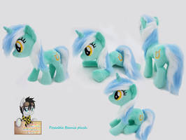Beanie Lyra plushie poseable - with video by Epicrainbowcrafts
