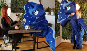 The lifesize has been doubled!  75 inch / 185cm! by Epicrainbowcrafts