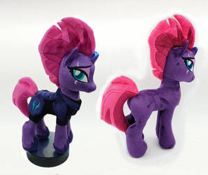 Tempest shadow Bronycon 2018 LED horn by Epicrainbowcrafts