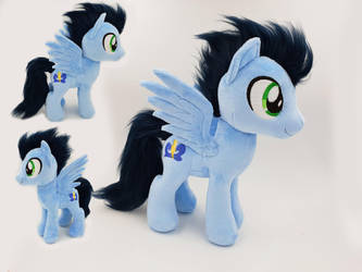 MLP Soarin small plushie w faux fur by Epicrainbowcrafts