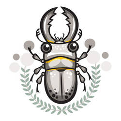 stag beetle by wolvenkind