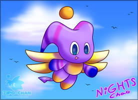 NiGHTS Chao Poster (2018) by Zipo-Chan