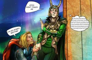 THOR - sorry Loki by deimoss-sama