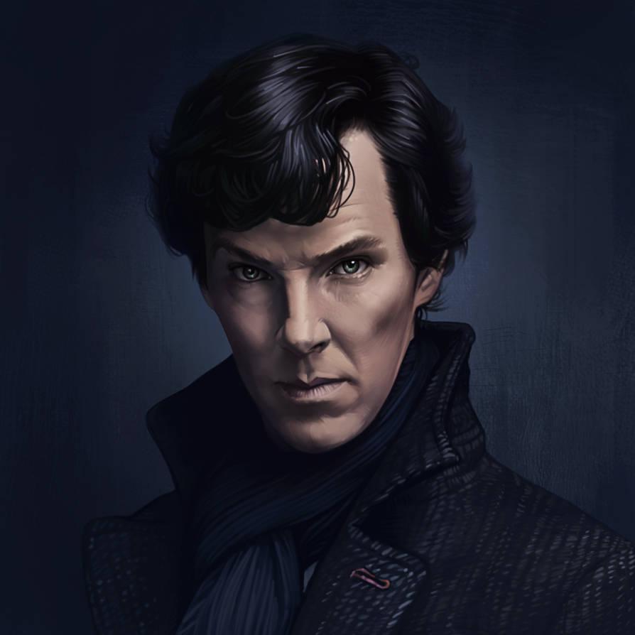 Sherlock - Fan Art 2 by AndromedaDualitas