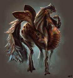 Seahorse by whizafriz