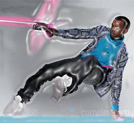 Kanye West 3-D by Samson34