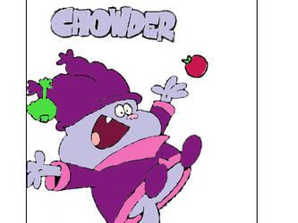 Chowder Bouncing Through by Samson34