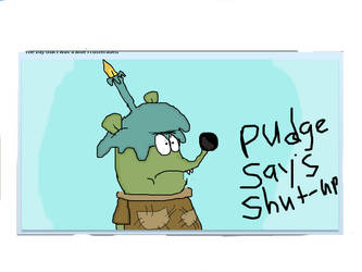 WHY SOO SAD PUDGE by Samson34