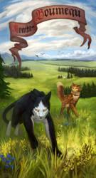 Warriors cats - Tallstar and Jake by Patrisiyaa