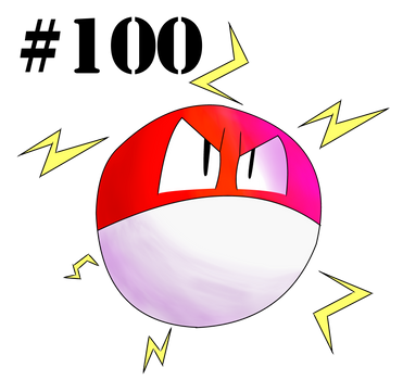 #100: Voltorb by Kyleboy21