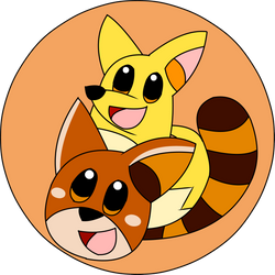 COMM - Raco and Foxo Icon by Kyleboy21