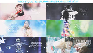 [ SHARE ] Pack 6 quotes by JmayhiP@da by JmayhiP