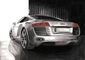 Audi R8 by tajus