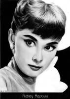 Audrey Hepburn by tajus