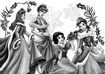 Disney's princesses by tajus