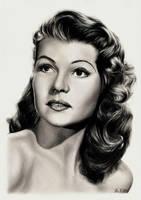 Rita Hayworth by tajus