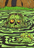 It came from the Swamp by lagatowolfwood