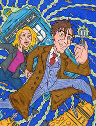 Doctor Who by lagatowolfwood