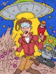 Chip Debris: Adventures in Dupe Space by lagatowolfwood