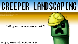 Creeper Landscaping by velvetnlace