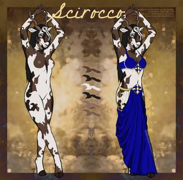 Ref Sheet: Scirocco by velvetnlace