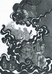 Princess of wolves by Irula-n